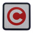 London congestion charge sign — Stock Photo #3534737
