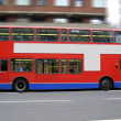 Stock Photo: Double decker London bus