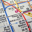 New York subway map — Stock Photo #3534824