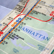New York subway map — Stock Photo #3534868