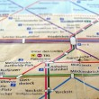 Ubahn map of Berlin — Stock Photo #3534908