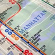 New York subway map — Stock Photo #3534909