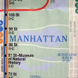 New York subway map — Stock Photo #3535057