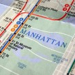 New York subway map — Stock Photo #3535126