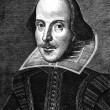William Shakespeare Engraving — Stock Photo #3535173