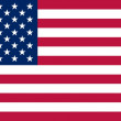 The national flag of United States — Stock Photo