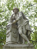 Shakespeare statue — Stock Photo