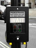 Wait sign — Stock Photo