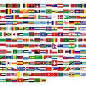 Bandiere del mondo — Foto Stock