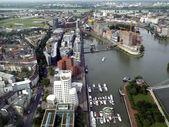 Duesseldorf mediahafen harbour — Stock Photo
