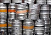 Beer casks — Stock Photo