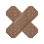 Adhesive bandage — Stock Photo