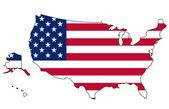 US Flag — Стоковое фото