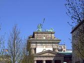 Porta di brandeburgo, berlino — Foto Stock