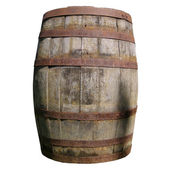 Wooden barrel cask — Stock Photo