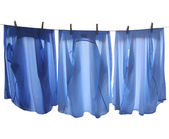 Line of clothes — Stock Photo