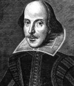William Shakespeare Engraving — Stock Photo