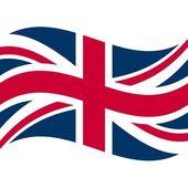 Flag of united kingdom — Stock Photo