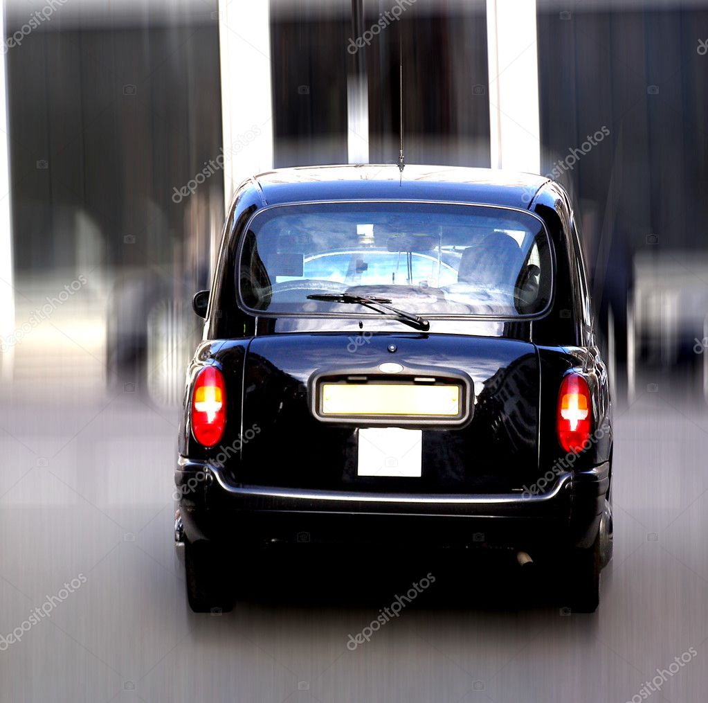 Black Cab London taxi car