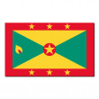 The national flag of Grenada — Stock Photo