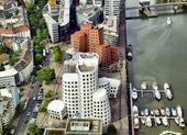Duesseldorf Mediahafen — Stock Photo