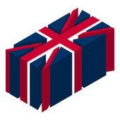 UK flag — Stock Photo