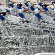 Stock Photo: Shopping cart trolley