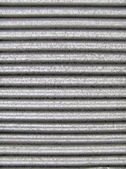 Corrugated steel — Stock Photo