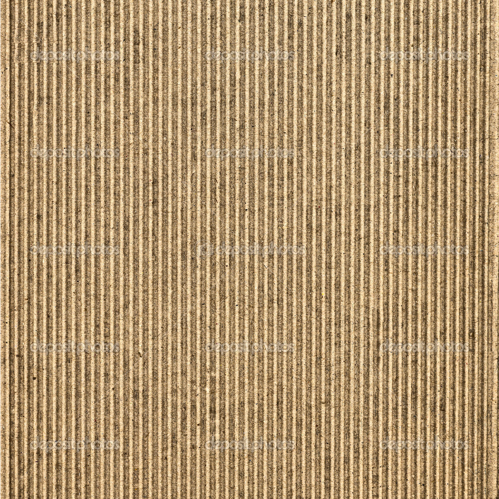 Brown corrugated cardboard useful as a background — Stock Photo #3687437