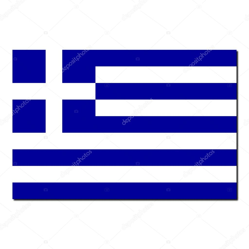 The national flag of greece stock photo claudiodivizia for Greek flag template