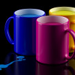 CMYK mugs — Stock Photo