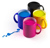 CMYK mugs — Stock Photo