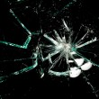 Stock Photo: Broken glass