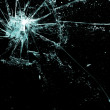 Broken glass — Stock Photo