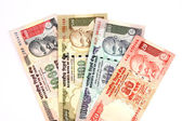 Indian rupee notes — Stock Photo