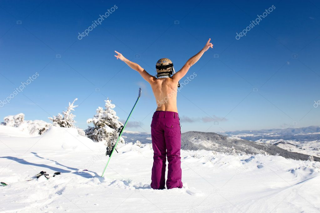 Consider, Topless photo of skier will not