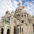 Stock Photo: Famous Basilique of Sacre Coeur, Montmartre, Paris, France