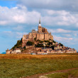 Mont Saint Michel, France, in the daylight — Stok fotoğraf