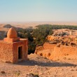 Ruins of old houses in village Chebika, mountain oasis, Tunisia, Africa — Stock Photo #3597985