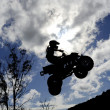 Stock Photo: ATV Sky