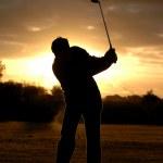 Morning golf — Stock Photo