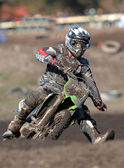MX mud — Stock Photo