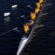 Rowing crew - Stock Photo