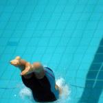 Swim start 35 — Stock Photo