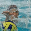 Waterpolo action 2 — Stock Photo