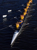 Rowing crew — Stock Photo