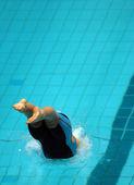 Swim start 35 — Stockfoto