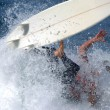 Stock Photo: Surf