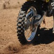 Stock Photo: Motorbike Tire
