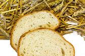Bread and grain ear — Stock Photo
